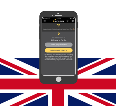 Forsite is in the UK