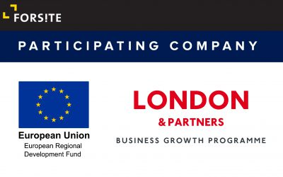 Forsite joins London & Partners business growth programme