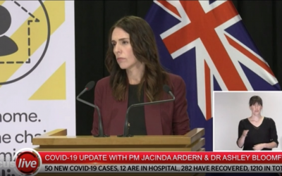 Jacinda Ardern – contact tracing now a Health and Safety Obligation